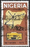NIGERIA 1975 Inauguration Of Telex Network - 12k Telex Network And Teleprinter AVU - Nigeria (1961-...)