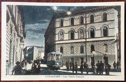 Catanzaro Marina. Corso Vittorio Emanuele. Tramway. - Catanzaro