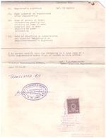 Sri Lanka. 1992. Marca Su Documento Consolare - Sri Lanka (Ceylon) (1948-...)