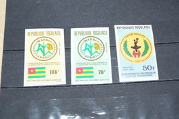 Timbres Non Dentelés Du Togo - Togo (1960-...)