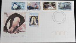 AUSTRALIAN ANTARCTIC TERRITORY 1992 Mi-Nr. 90/94 FDC - FDC