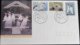 AUSTRALIAN ANTARCTIC TERRITORY 1993 Mi-Nr. 95/97 FDC - FDC