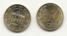 10 Cent, 2017, Prägestätte (J) Vz,  Sehr Gut Erhaltene Umlaufmünze - Deutschland