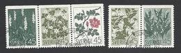 Schweden, 1968, Michel-Nr. 607-611 Do, Gestempelt - Usati