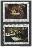 "Cameroun Aerien YT 169 & 170 (PA) "" Tableaux De Rembrandt "" 1970 Neuf** - Kameroen (1960-...)"