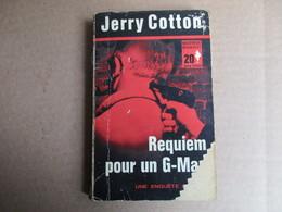 Requiem Pour Un G-Man (Jerry Cotton) éditions Marabout - Livres, BD, Revues