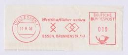 BRD AFS - ESSEN, Wirtschaftlicher Werben 16.8.59 - [7] Federal Republic