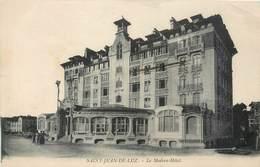 CPA 64 Pyrénées Atlantiques Basses St Saint Jean De Luz Le Modern Hôtel - Saint Jean De Luz