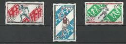 "Cameroun Aerien YT 179 à 181 (PA) ""JO Modernes "" 1971 Neuf** - Kameroen (1960-...)"