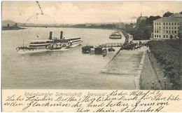 AK Rheindampfer Schnellschiff Borussia 1903 Vor Bonn - Paquebots