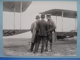 Bezoek / Visit Van KONING ( King - Roi ) ALBERT Bij SNETA ( S.N.E.T.A. ) In 1920 ( Formaat +/- 24 X 18 Cm.) ! - Aviation