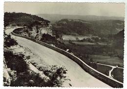 CLAIRVAUX - Vallée De La Frasnée - Circulée 1953 - Bon état - Clairvaux Les Lacs
