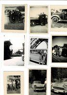 Lot De Petites Photos Voiture - Coches