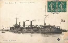 CPA 17 Charente Maritime Inférieure Rochefort Sur Mer Le Croiseur Cassard Militaria Marine De Guerre Bateau - Rochefort