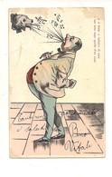 P102 Umoristica Musica Note Cane 1903 AGM Milano Viaggiata - Humor
