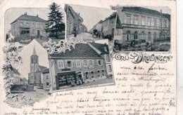 67  -  Bas Rhin -  Gruss Aus DRULINGEN - 1899 - Drulingen