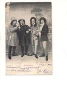 P105 ATTORI BOHEMIENNE 1903 Viaggiata - Humor