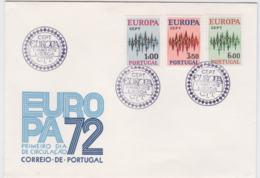 Portugal 1972 FDC Europa CEPT (G84-118) - 1972