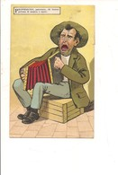 P107 UMORISTICA PROFESSORE SQUATTRINATO MUSICA CANTO 1917 VIAGGIATA - Humor