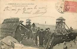 #230619 - 49 COMBREE Ardoisières De La Forêt Les Puits Et La Scierie à Fils - Usine Bois - Autres Communes