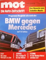 CA131 Autozeitschrift Mot Auto-journal, Nr. 21/1977, Test VW Golf, Neuwertig - Automóviles & Transporte