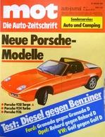 CA133 Autozeitschrift Mot Auto-journal, Nr. 7/1978, Porsche 924 Turbo, 928 Targa, 926 - Auto & Verkehr