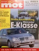 CA137 Autozeitschrift Mot - Auto Test Technik, Nr. 5/2000, Porsche 911 Turbo - Automóviles & Transporte