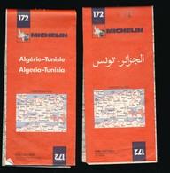 Carte Routière Michelin 172  Algérie - Tunisie - 1978 - Algéria Tunisia - TBE - Cartes Routières