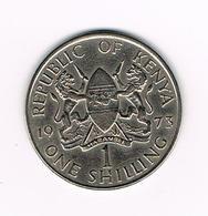 //   KENYA 1 SHILLING   1973 - Kenya