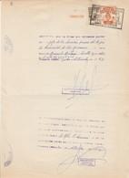 Argentina. 1963. Marche Da Bollo Su Documento - Argentina