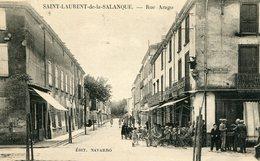 SAINT LAURENT De La SALANQUE - RUE ARAGO  - - France