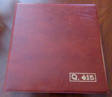 RACCOGLITORE CON 19 FOGLI PER QUARTINE ED 1 PER FOGLIETTI - Album & Raccoglitori