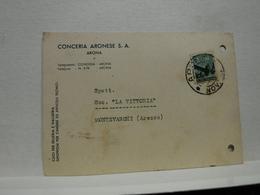ARONA  -- NOVARA  -- CONCERIA ARONESE  S.A. - Novara