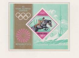 Hungary 1972 Olympic Games München Souvenir Sheet MNH/** (H54) - Ete 1972: Munich