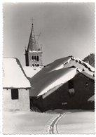 MONTGENEVRE --1956-- Vue Sur L'église ---timbre --Beau Cachet  Recette Rurale  Montgenevre-05 ............ à Saisir - France