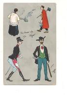 P115 UMORISTICA 1903 VIAGGIATA ILLUSTRATORE - Humor