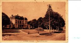 Guitres (Gironde) Façade De La Gare - France