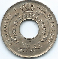 Nigeria / British West Africa - George V - 1911 -⅒ Penny - KM4 - Nigeria