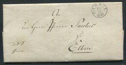 Thurn Und Taxis / 1841 / Vorphila-Brief K1-Stempel CASSEL, Innen Protokoll D.Kurf.Cons. (18544) - Allemagne