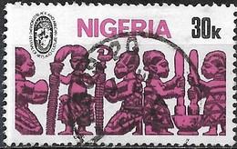 NIGERIA 1976 Second World Black And African Festival Of Arts And Culture, Nigeria -  30k. Nigerian Arts And Crafts FU - Nigeria (1961-...)