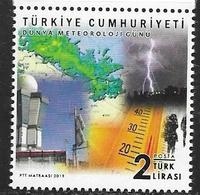 TURKEY, 2019, MNH, METEOROLOGY, CLIMATE, 1v - Climate & Meteorology