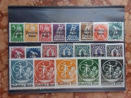 GERMANIA REICH 1920 - Francobolli Di Baviera Sovrastampati - Nn. 220/36c Nuovi * + Spese Postali - Germany