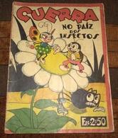 ", Revista Banda Desenhada Antiga, Old Comic Book Magazine ""Guerra No Paiz Dos Insectos"" Year ? - Cómics (otros Lenguas)"