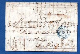 Lettre / Pour Paris / 28 Août  1837 - 1801-1848: Voorlopers XIX