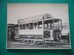TRAM DI MILANO PRIMI '900   TALMONE CIOCCOLATO AL LATTE   FOTOGRAFIA ORIGINALE - Tramways
