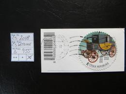 """2018  """" Kutsche """" Auf Ausschnitt, Sauber Gestempelt   LOT 955 - Gebraucht"""
