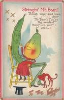 """VALENTINE'S DAY: TUCK """"Garden Truck"""" Series , 00-10s ; Stringin'Mr Bean - Saint-Valentin"""