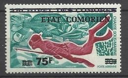 Comores Poste Aérienne N° 76  Neuf * *  TB    Soldé à Moins De 20 % ! - Unused Stamps