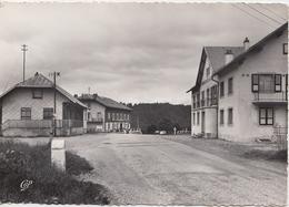 CPSM- SAINTE-MARIE-AUX-MINES (68) - COL DE STE MARIE - HÔTELS AVEC BÂTIMENT DE L'ANCIENNE DOUANE - Sainte-Marie-aux-Mines