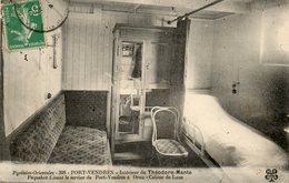 Interieur Du Theodore MANTE - Steamers